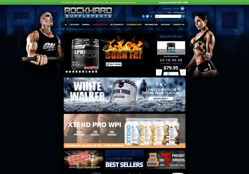 Rockhard Supplements Feature