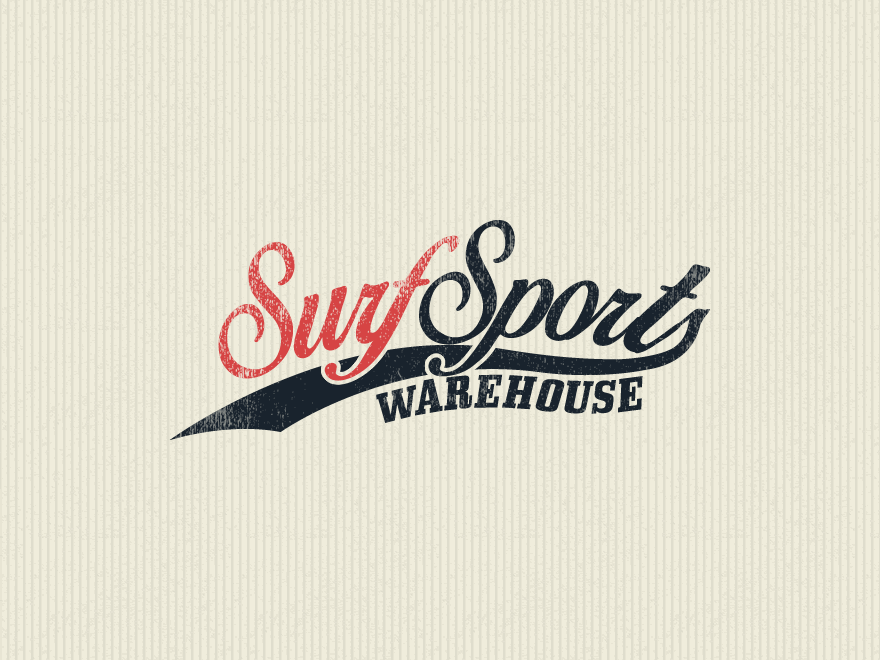 Surf Sports Warehouse Logo Design